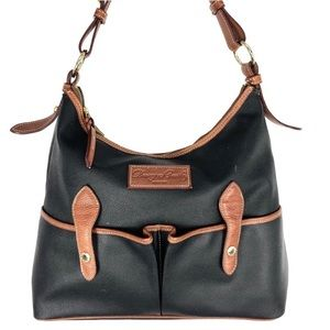 Dooney & Bourke Medium Lucy Hobo Black Leather